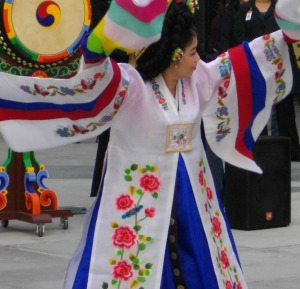 Korean Dance of Peace